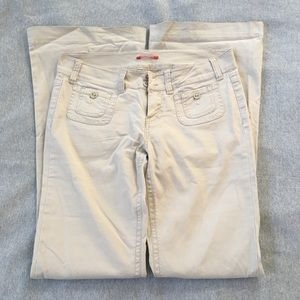 Flare Kaki Pants 👖 👍🏼